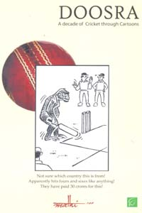 Tamil book Doosra : A Decade of Cricket Through Cartoons