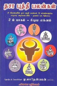 Dhasaabudhdhi Palangal (Rishabam) - தசா புத்தி பலன்கள் 2 ம் பாகம் ரிஷப லக்னம்
