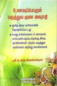 உணவுப்பொருள் மருத்துவ குண அகராதி