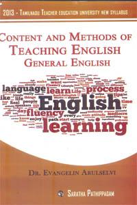Content and Methods of Teaching English General English (2013 - Tamilnadu Teacher Education University New Syllabus)