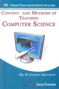 Content and Methods of Teaching Computer Science (2013 - Tamilnadu Teacher Education University New Syllabus)