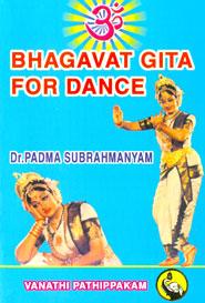 Tamil book Bhagavat Gita for Dance