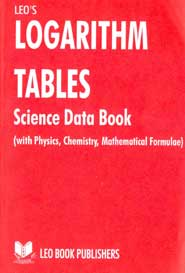 Logarithm Tables Tamil Science Data book