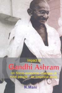 Tamil book Impact of Gandhi Ashram