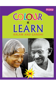 Kalam and Gandhi - Colour and Learn - Kalam and Gandhi