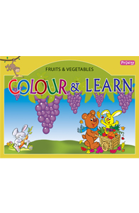 Fruits and vegetables - Colour and Learn - Fruits and Vegetables