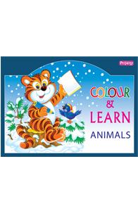 Animal Kingdom - Colour and Learn - Animal