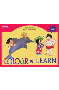 Adventures of vicky & reva - 1 - Colour and Learn - Adventures of Vicky & Reva - 1