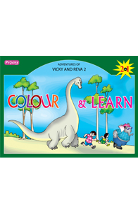 Adventures of vicky & reva - 2 - Colour and Learn - Adventures of Vicky & Reva - 2