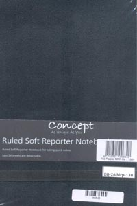 Tamil book Concept Ruled Soft Reporter Notebook Ruled 192 Pages