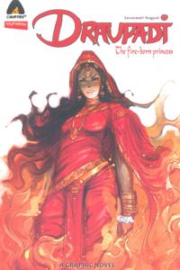 Tamil book Draupadi The Fire Born princess  (The Graphic Novel)