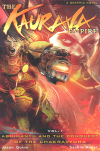 Tamil book The Kaurava Empire Vol - 1 (The Graphic Novel)