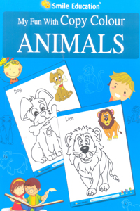 Tamil book My Fun With Copy Colour ANIMALS