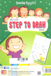 Tamil book My Cute Step To Draw Book (Green)