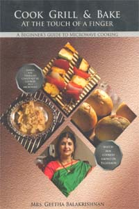 Tamil book Cook Grill & Bake at the Touch of a Finger