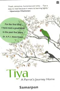 Tamil book Tiya A Parrot's Journey Home