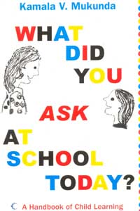Tamil book What Did You Ask at School Today : A Handbook of Child Learning