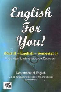 English for You! (Part II - English - Semester 1)