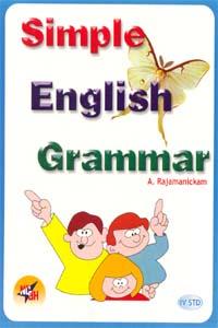 Tamil book Simple English Grammar (IV std)
