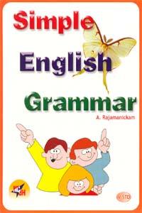 Tamil book Simple English Grammar (V std)