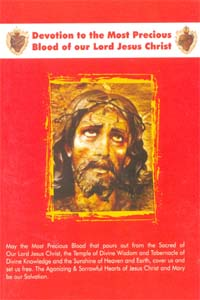 Devotion to the Most Precious Blood of out Lord Jesus Christ