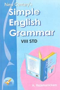 Simple English Grammar (VIII Std)