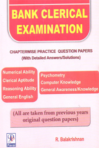 Bank Clerical Examination Chapterwise Practice Question Papers