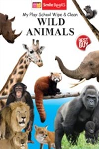 Tamil book Wild Animals (My Play School Wipe & Clean)
