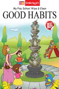 Tamil book my play school wipe & clean GOOD HABITS