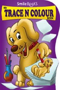 Trace N Colour: Purple (Activity-Trace N Colour) - my TRACE N COLOUR book purple