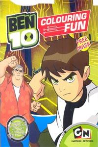 Tamil book BEN 10 COLOURING FUN