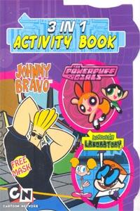 3 IN 1 ACTIVITY BOOK