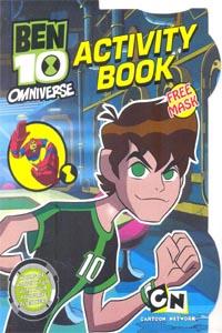 BEN 10 OMNIVERSE ACTIVITY BOOK