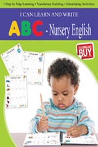 Tamil book I CAN LEARN AND WRITE Nursery English ABC