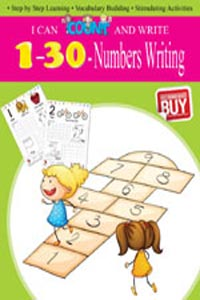 I CAN COUNT AND WRITE Numbers Writing 1-30