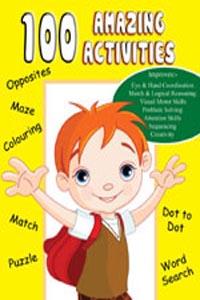 100 Amazing Activities (Activity-100 Activities Book) - 100 AMAZING ACTIVITIES yellow