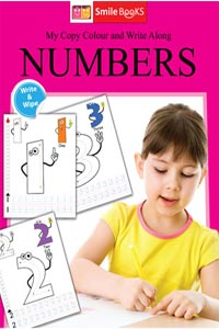 Copy Colour: Numbers (My Copy Colour and Write Along) - My Copy COLOUR and WRITE Along NUMBERS