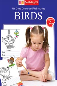 Copy Colour: Birds (My Copy Colour and Write Along) - My Copy COLOUR and WRITE Along BIRDS