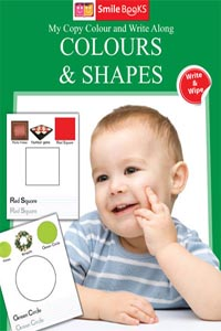 Copy Colour: Colours & Shapes (My Copy Colour and Write Along) - My Copy COLOUR and WRITE Along COLOURS & SHAPES