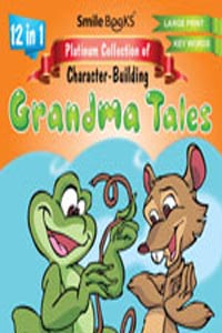 Tamil book 12 in 1 Platinum COllection of Character - building GRANDMA TALES orange