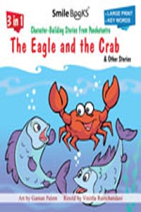 Tamil book 3 in 1 Character - Building Fables From Panchatantra THE EAGLE AND THE CRAB & other stories