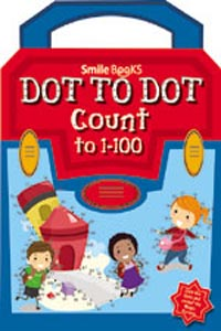Dot to Dot Count to 1 - 100: Blue (Activity-Dot to Dot) - DOT TO DOT Count to 1-100 blue