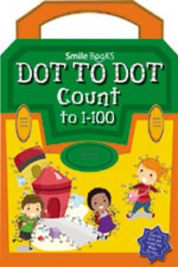 Dot to Dot Count to 1 - 100: Orange (Activity-Dot to Dot) - DOT TO DOT Count to 1-100 orange