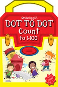 Dot to Dot Count to 1 - 100: Yellow (Activity-Dot to Dot) - DOT TO DOT Count to 1-100 yellow