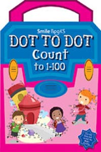 Dot to Dot Count to 1 - 100: Pink (Activity-Dot to Dot) - DOT TO DOT Count to 1-100 pink