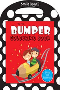 My First Bumper Colouring Book: Red (Activity-Colouring Books) - my first BUMPER COLOURING BOOK red