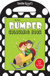 My First Bumper Colouring Book: Green (Activity-Colouring Books) - my first BUMPER COLOURING BOOK green