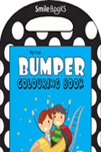 My First Bumper Colouring Book: Blue (Activity-Colouring Books) - my first BUMPER COLOURING BOOK blue