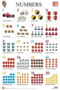 Numbers 1 to 100 (Educational Wall Charts) - educational wall charts NUMBERS 1-100