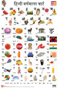 Plants & Trees (Front & Back) (Educational Wall Charts) - educational wall charts HINDI VARNAMALA